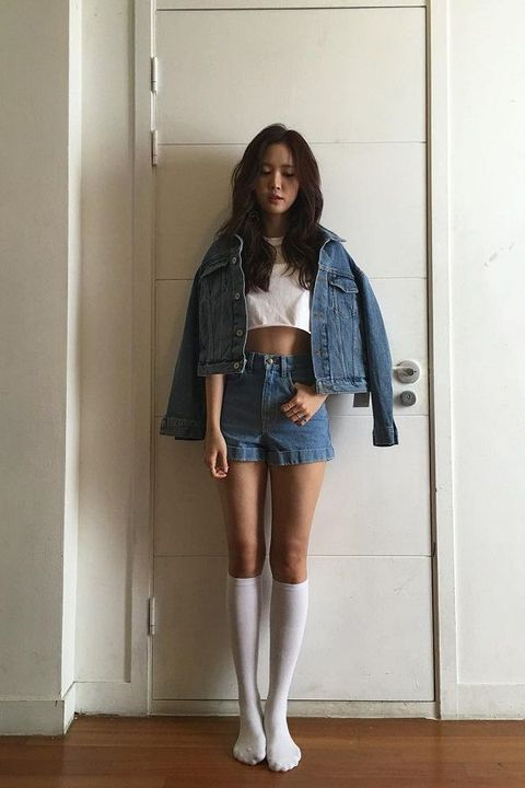Clothing, Denim, White, Blue, Jeans, Footwear, Fashion, Knee, Leg, Shorts,