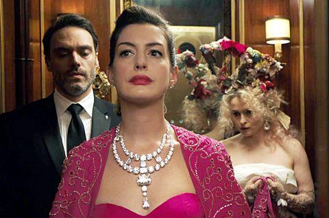 安海瑟薇,Anne Hathaway, 穿搭, 女星紅毯穿搭, 瞞天過海:八面玲瓏