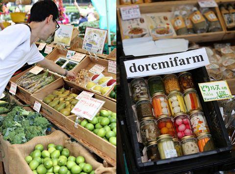 Farmer's market @ UNU