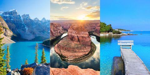 Natural landscape, Nature, Landmark, Rock, Water resources, Sky, Formation, Tourism, Landscape, Tourist attraction,