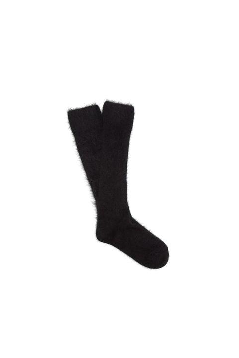 Sock, Footwear, Wool, Fashion accessory, Shoe, Glove, Costume accessory, Fur,