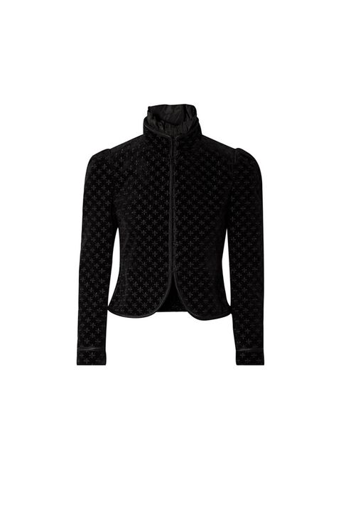 Clothing, Outerwear, Black, Blazer, Jacket, Sleeve, Cardigan, Pattern, Design, Sweater,