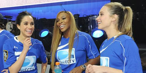 Blond, Event, Electric blue, Smile, Games,