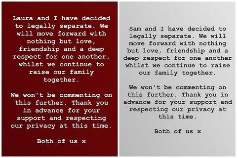 山姆和蘿拉離婚