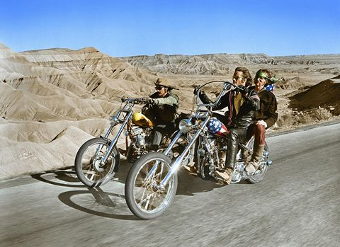 On the set of Easy Rider