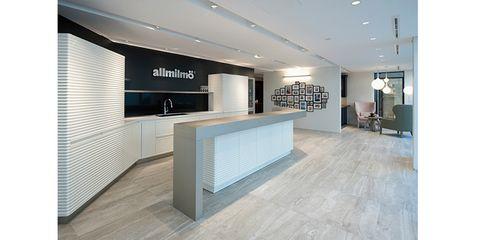 Building, Property, Interior design, Lobby, Room, Architecture, Floor, Office, Design, Flooring,