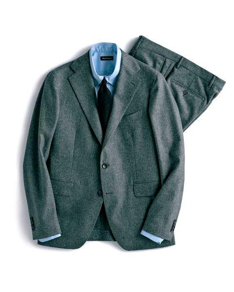 スーツ, グレイスーツ , グレイ, 品格, スーチング, メンクラ,ファッション