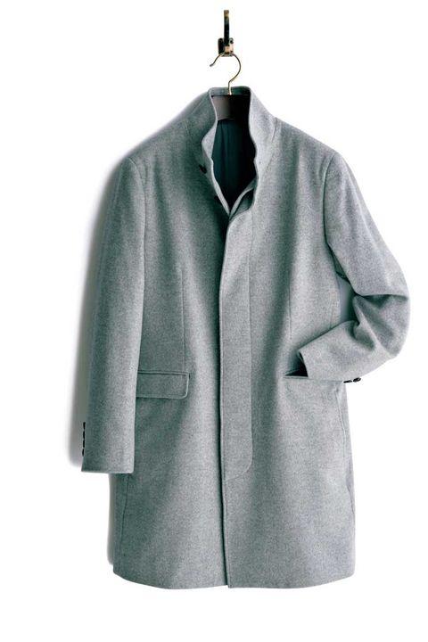 コート, グレイコート, エレガント ,  グレイ, メンクラ,ファッション