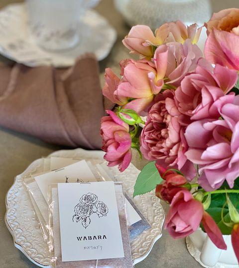 西村直子おすすめのバラのコスメやお茶