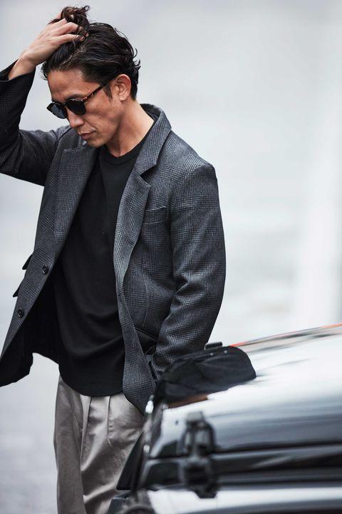 ブレザー, 柄ジャケット, ゆるジャケット, レザージャケット, ミリタリーワークジャケット, ジャケット, ファッション, メンクラ