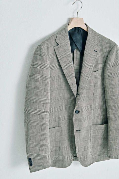 柄ジャケット, ジャケット,  柄が大きめ, チェックジャケット, ファッション, メンクラ