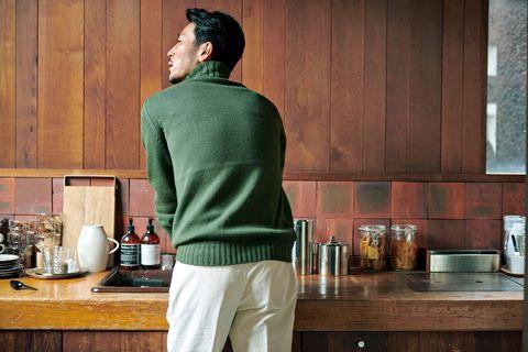 セーター, 秋色セーター, アイテム, ファッション, メンクラ