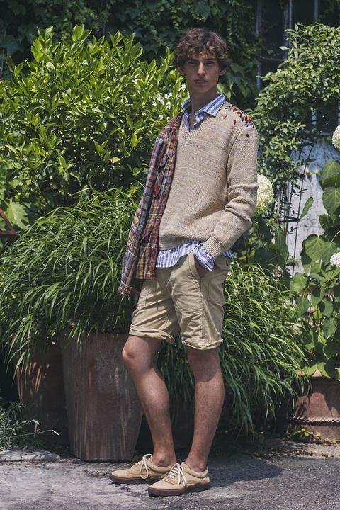 Clothing, Snapshot, Fashion, Botany, Street fashion, Footwear, Shorts, Leg, Outerwear, Shoe,