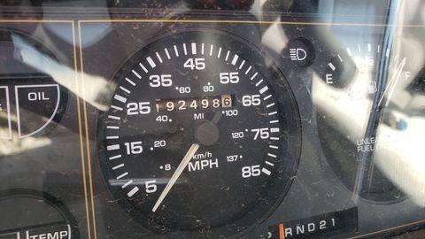 1990 dodge caravan turbo in denver junkyard