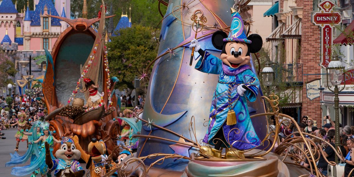 You Can Watch Disneyland's Newest Parade From Your Home