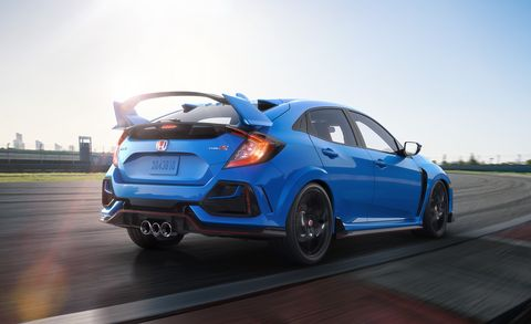 2020 Honda Civic Type R Adds Features And A Great New Color