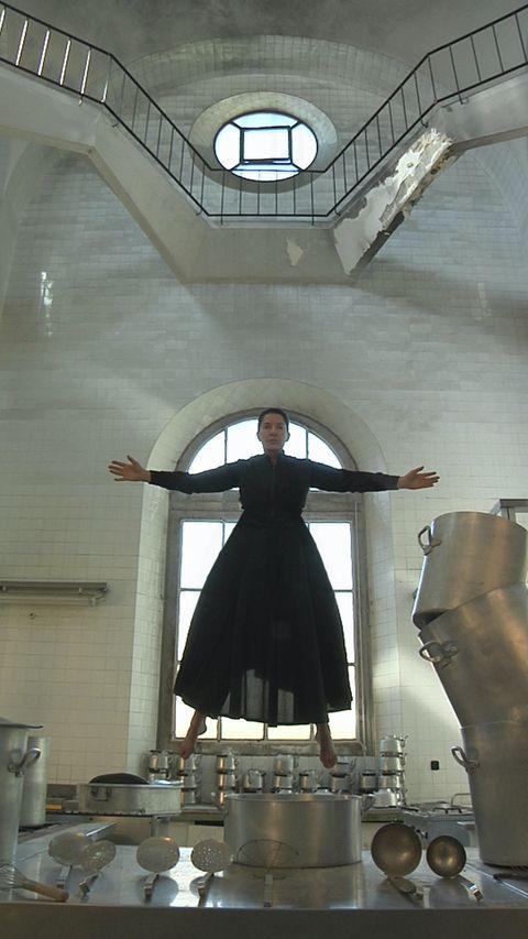 Marina Abramović, Levitation, The Kitchen, Homage to Saint Therese