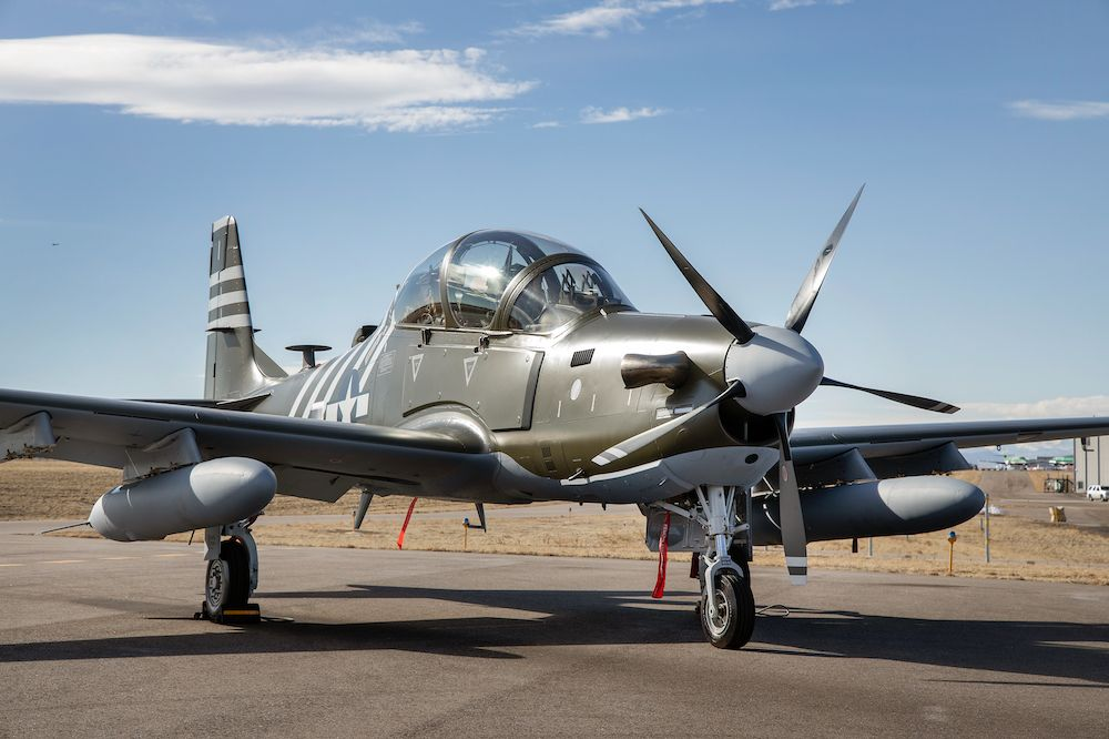 The Air Force Dressed Up This A-29 in Vintage Air Commando Colors