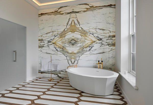 Bagni in marmo bianco idee per arredi di lusso mondodesign