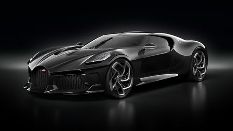 $12.5 Million Bugatti La Voiture Noire One-Off Unveiled