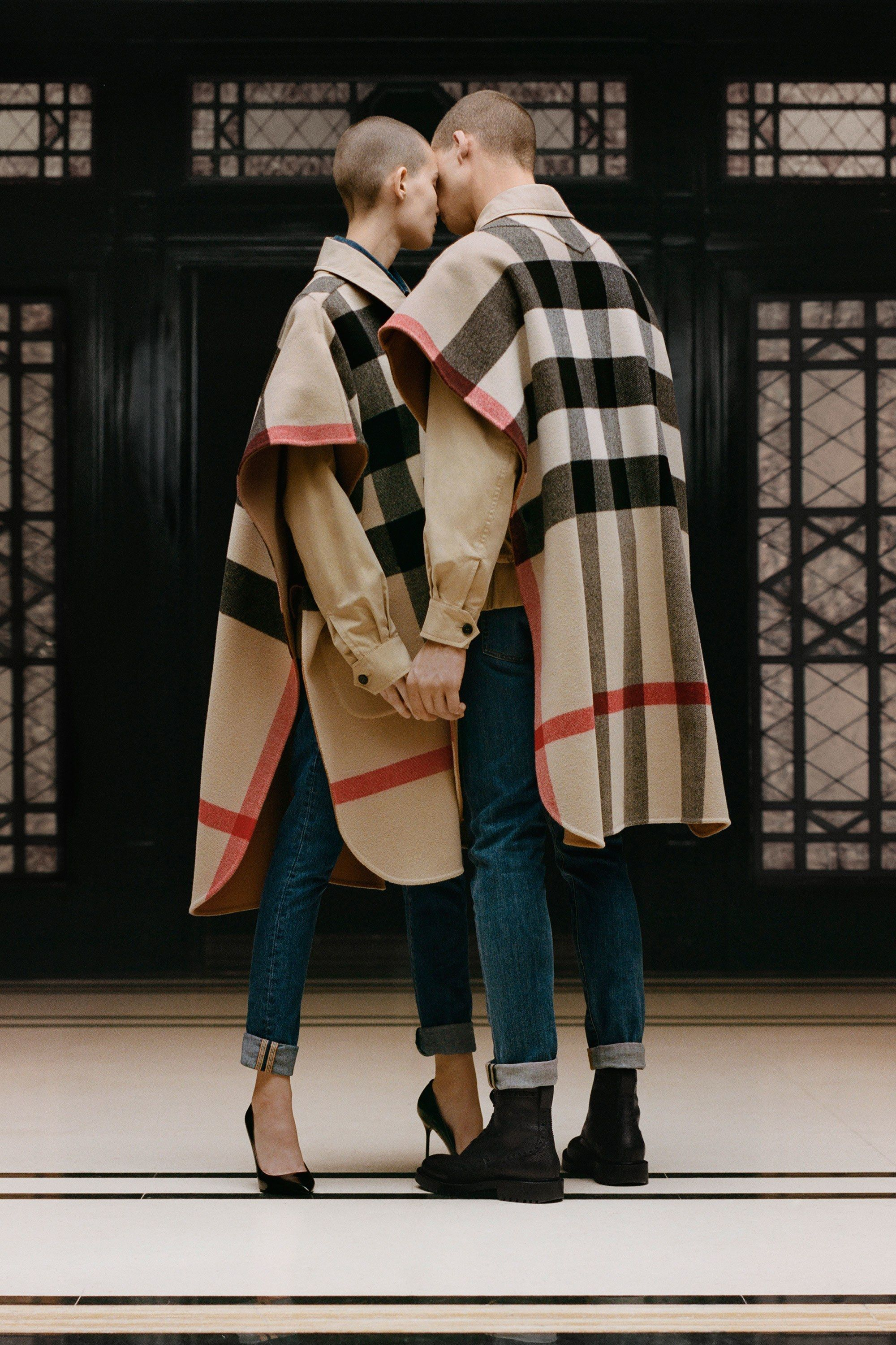 a first look at riccardo tisci s curated burberry collection