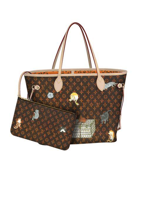 Handbag, Bag, Fashion accessory, Brown, Shoulder bag, Design, Material property, Pattern, Beige, Tote bag,