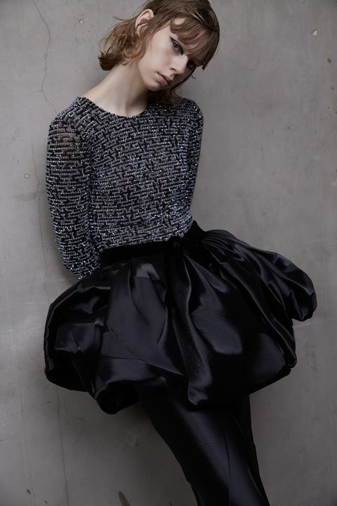 Sleeve, Style, Fashion, Vintage clothing, Day dress, Monochrome, Fashion model, Embellishment, Waist, One-piece garment,
