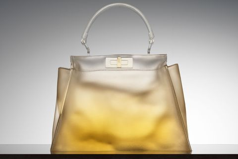 Handbag, Bag, Product, Yellow, Fashion accessory, Shoulder bag, Material property, Tote bag, Beige, Luggage and bags,