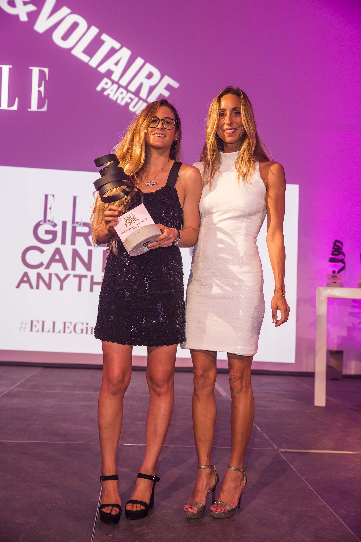 Gisela Pulido y Gemma Mengual