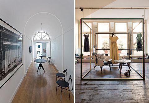 Interior design, Floor, Room, Building, Furniture, Ceiling, Flooring, Design, Architecture, Loft,