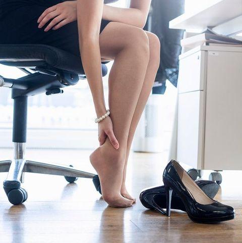 「骨盆不正」ng動作2愛穿高跟鞋