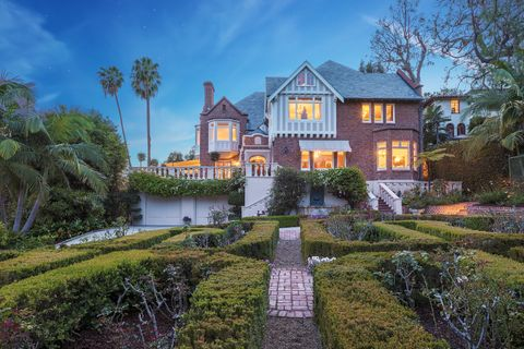 michael feinstein los feliz home listing
