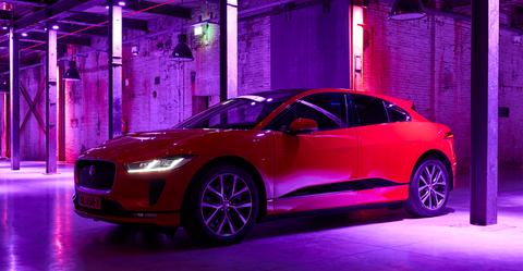 Jaguar I-Pace, Dua Lipa, Auto
