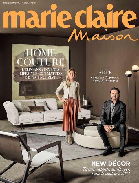 cover marieclaire maison italia 2020, matteo nunziati, rubelli, cover story