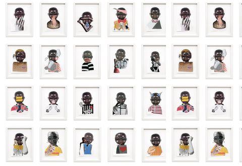 artworks © the artist,  courtesy the artist and stephen friedman gallery, london, taylor, arte, marieclaire maison italia, maggio 2021