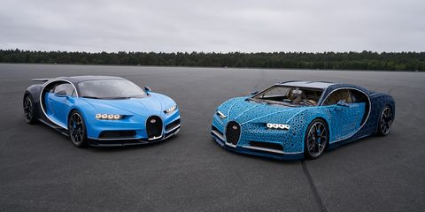 Lego Bugatti Chiron 2018 Chiron Made Entirely Of Lego Blocks