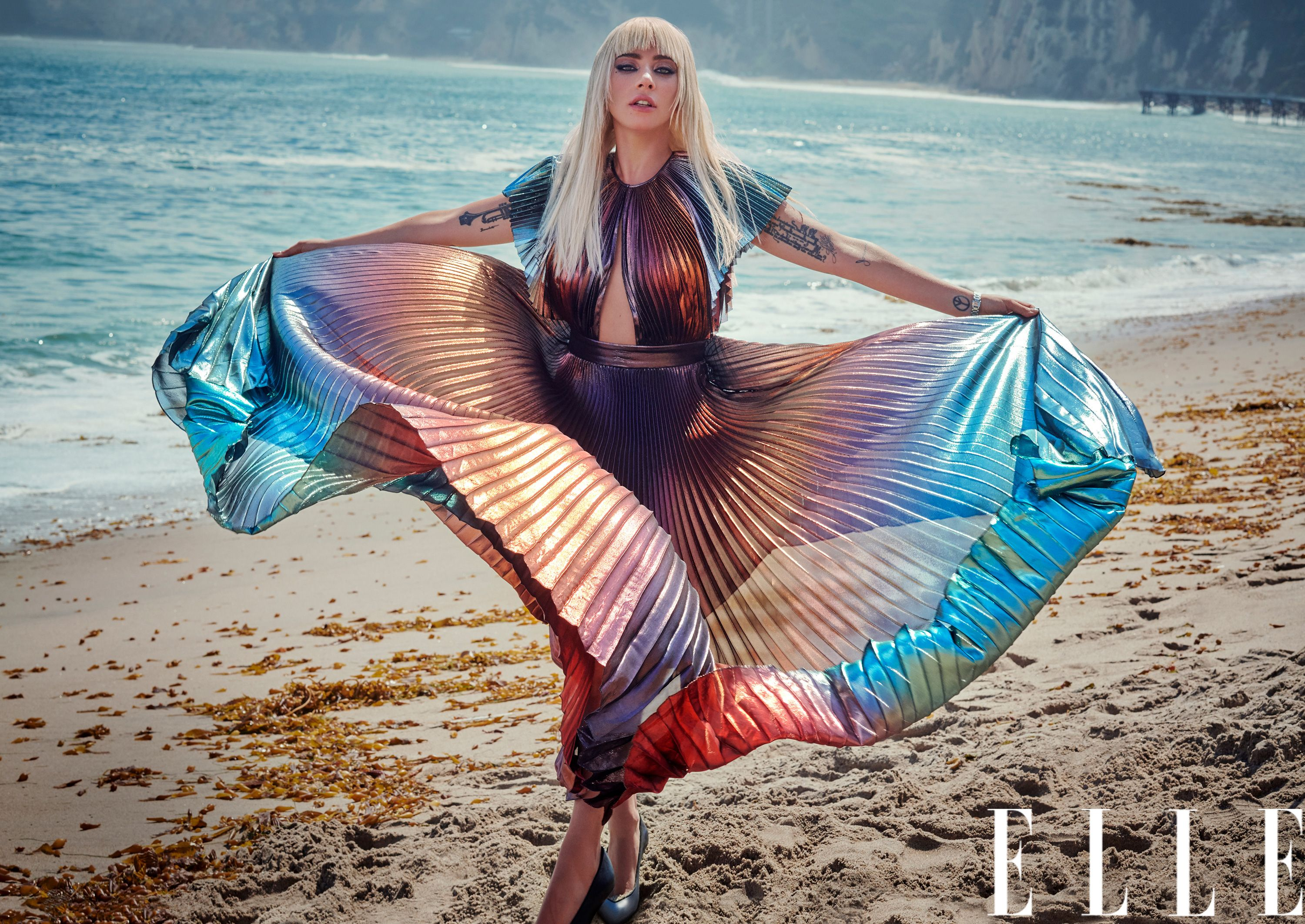 960ccf21b5e Lady Gaga A Star Is Born Profile - ELLE 2018 November Cover