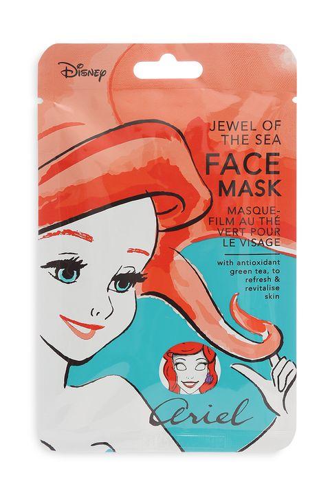 Mascarillas faciales de princesas Disney