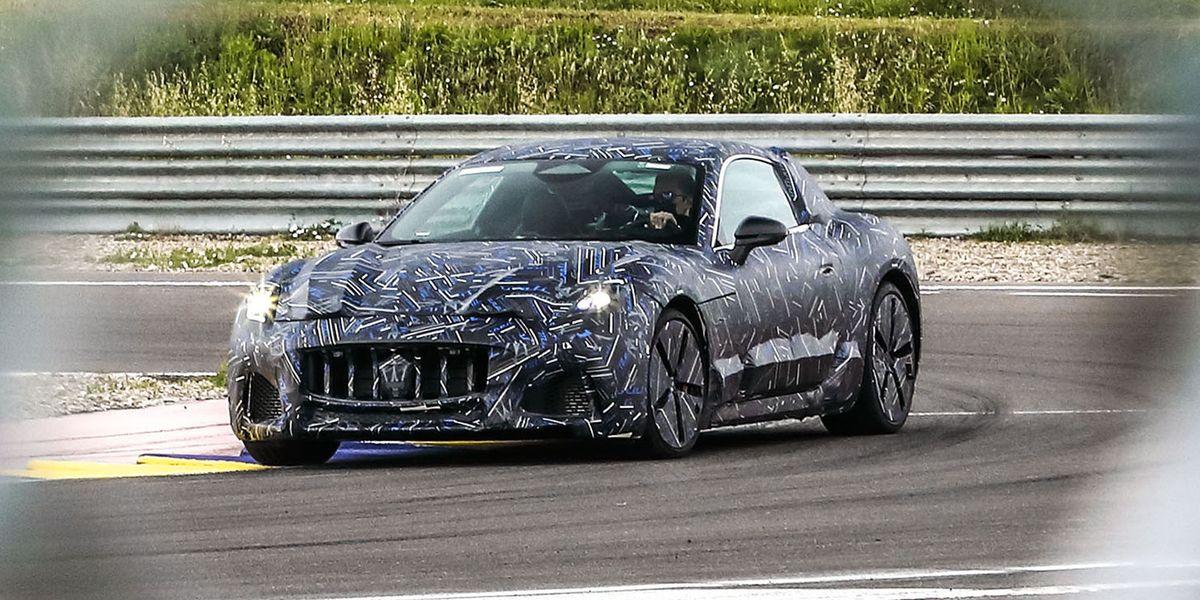 Maserati GranTurismo EV Will Battle Tesla Roadster