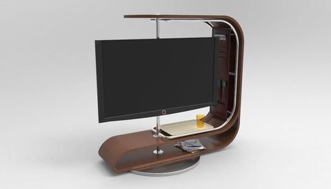 Product, Brown, Furniture, Table, Rectangle, Mirror, Display device, Leather,
