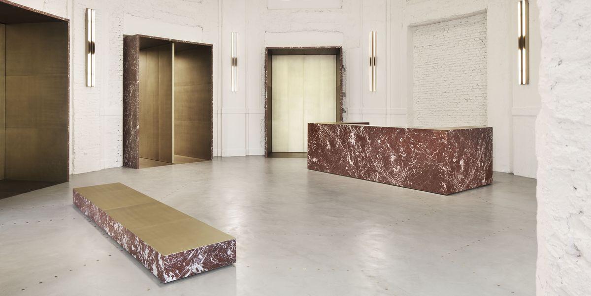I nuovi negozi moda di milano con interni di design for Negozi di design