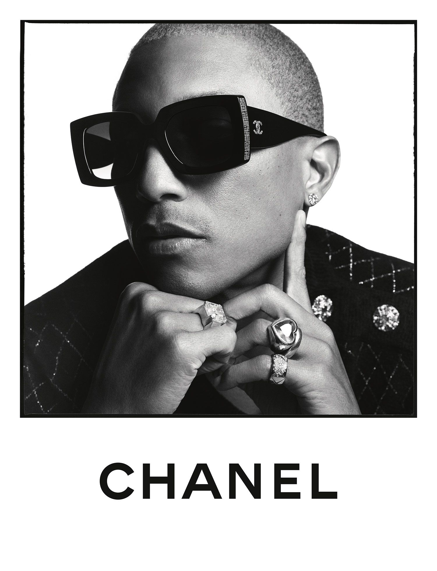 Five Stars Get Shady in Chanel's Spring/Summer 2020 Eyewear Campaign