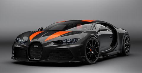 Bugatti Launches Limited Chiron Super Sport 300+, World's Fastest Production Car