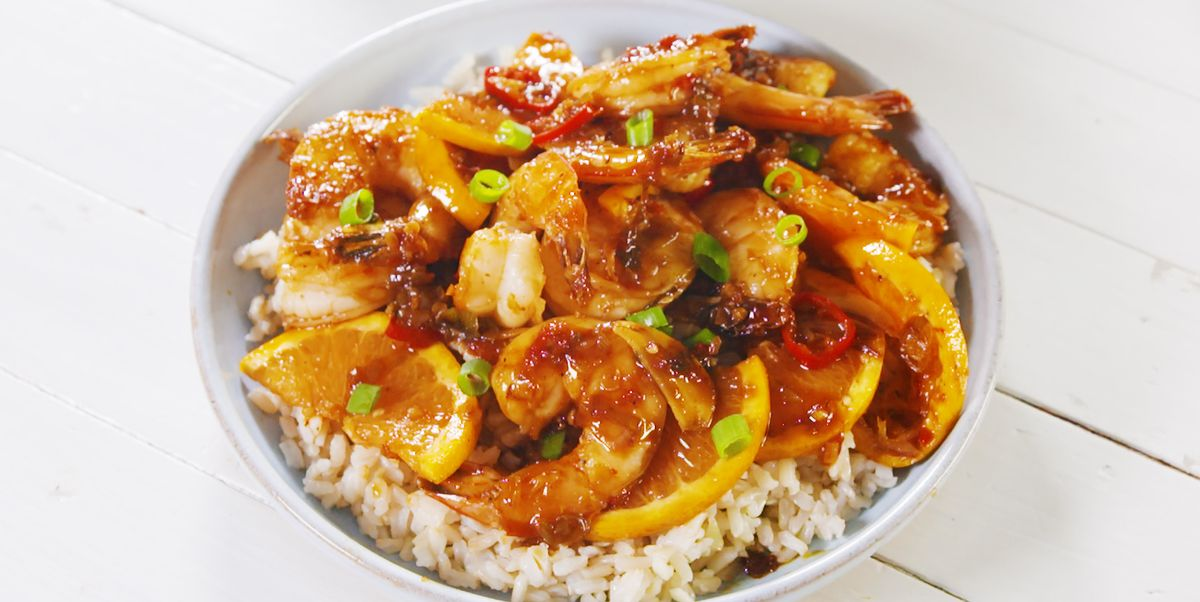 Chili Shrimp Skillet With Cara Cara Oranges Is The Right Kind Of Spicy
