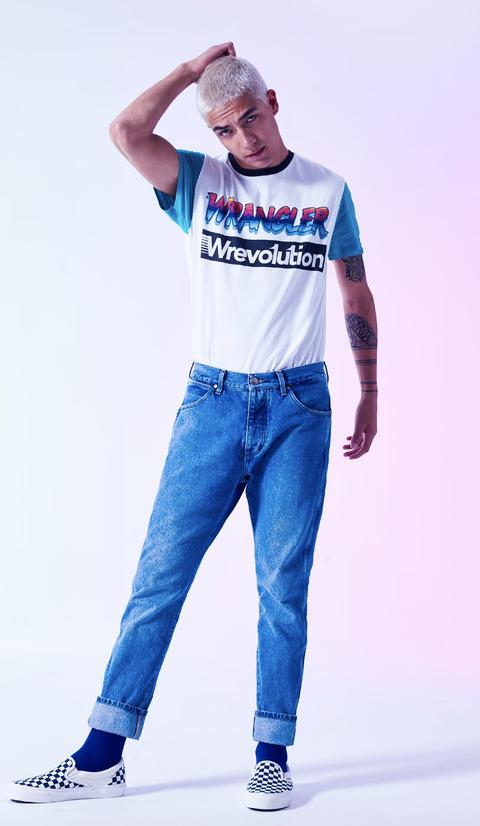 image. Courtesy Wrangler. I jeans a vita alta di Wrangler. Qual è stato il  capo più indossato degli anni 80  52688a77833f