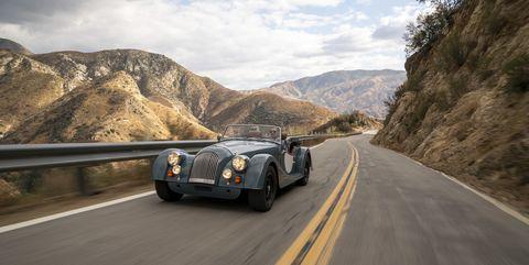 Land vehicle, Vehicle, Car, Classic car, Coupé, Vintage car, Classic, Sports car, Antique car, Morgan plus 8,