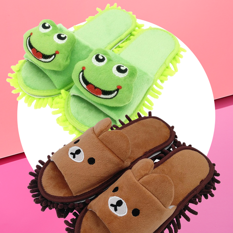 Slipper, Cartoon, Footwear, Pink, Shoe, Font, Finger, Animation, Stuffed toy, Plush,