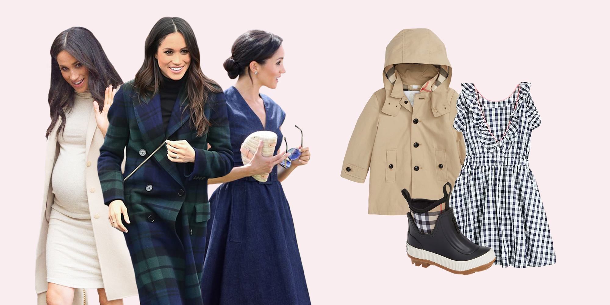 696759aa376 Meghan Markle s Favorite Fashion Brands That Also Make Adorable Baby Clothes