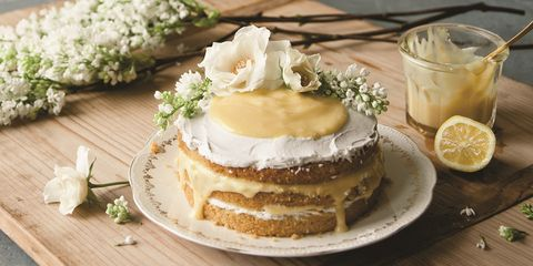 Dish, Food, Cuisine, Ingredient, Buttercream, Torte, Sour cream, Dessert, Baked goods, Icing,