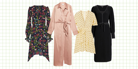 Clothing, Dress, Outerwear, Day dress, Fashion, Sleeve, Robe, Pattern, Pattern, Overcoat,